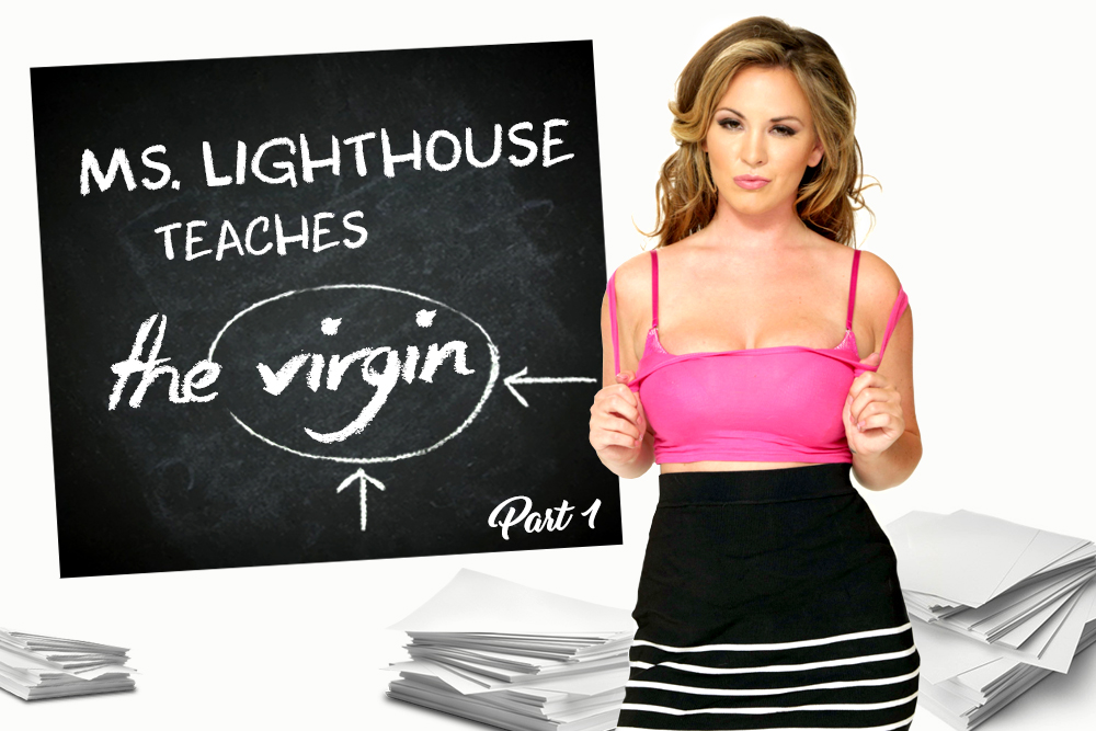 Ms. Lighthouse Teaches the Virgin - Part 1